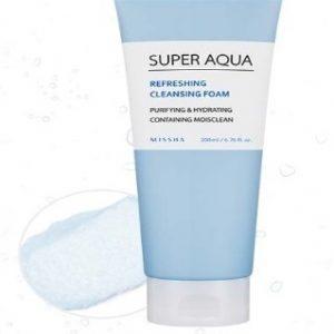 Почистваща пяна Missha Super Aqua