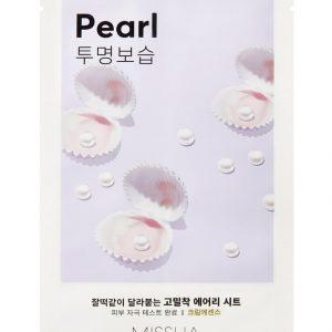 Маска за лице с перли