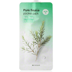 missha pure source pocket pack tea tree